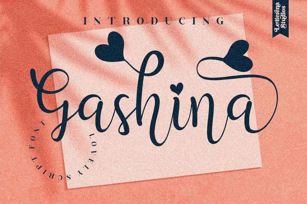 Gashina Font