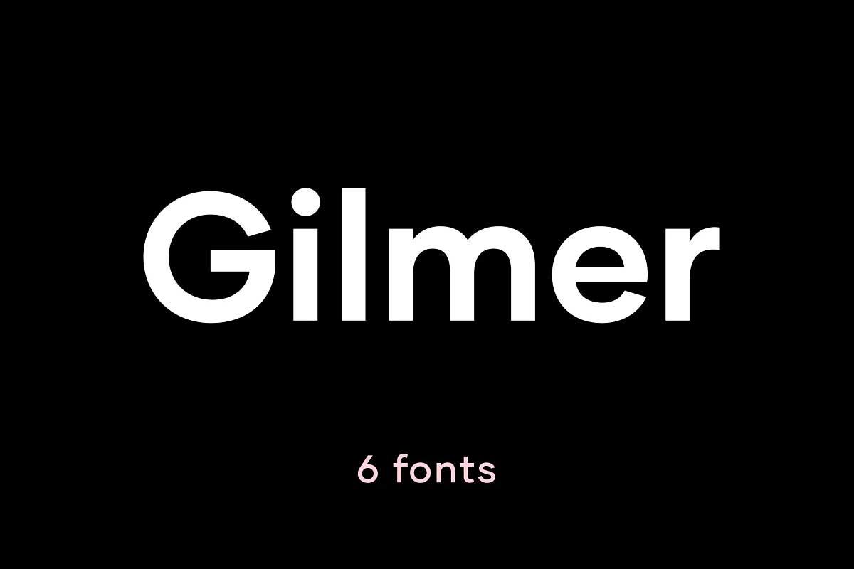 Gilmer Font