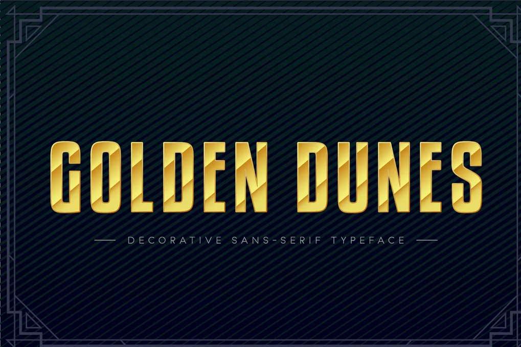 Golden Dunes Font