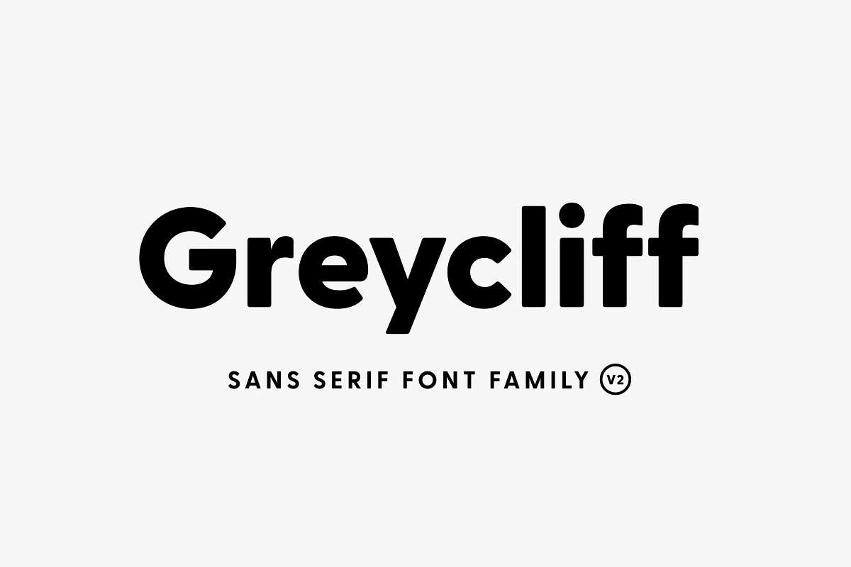 Greycliff CF Font