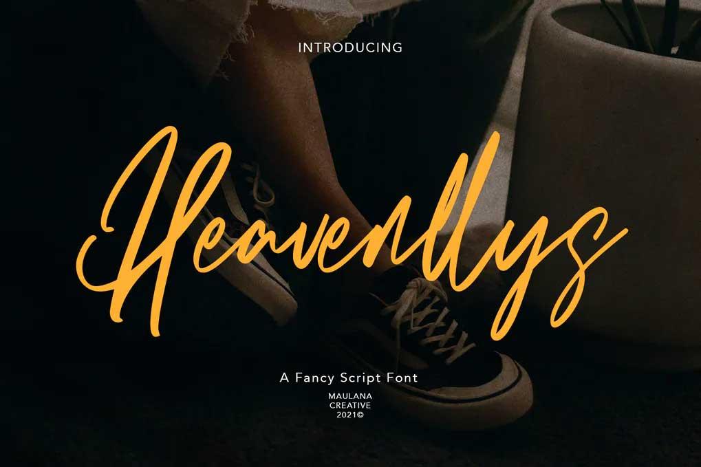Heavenllys Font