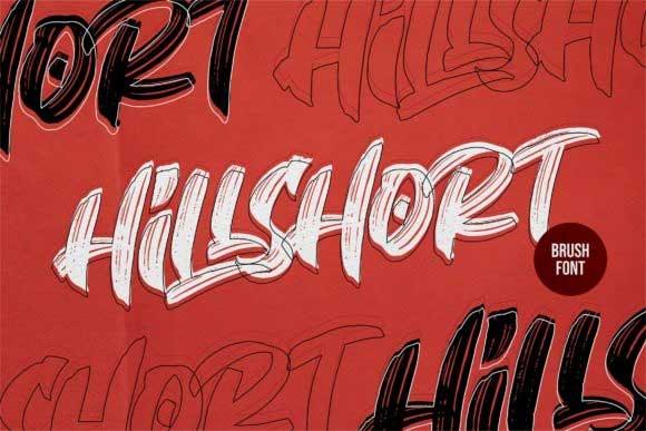 Hillshort Font