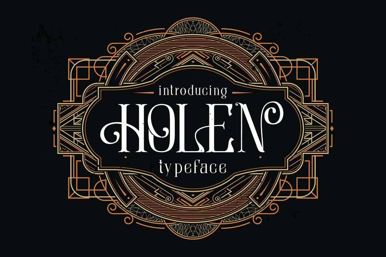 Holen Typeface