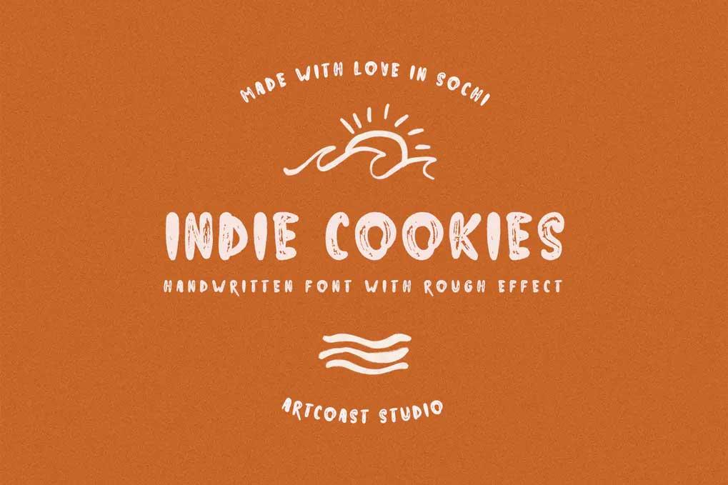 Indie Cookies Font