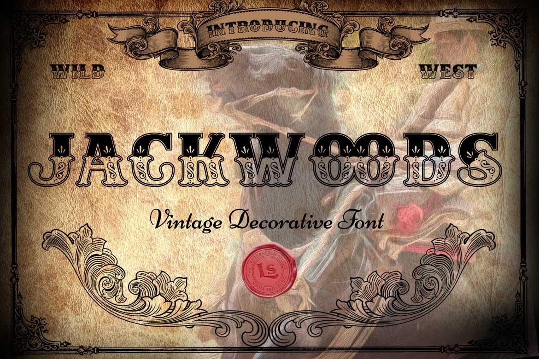 Jackwoods Font
