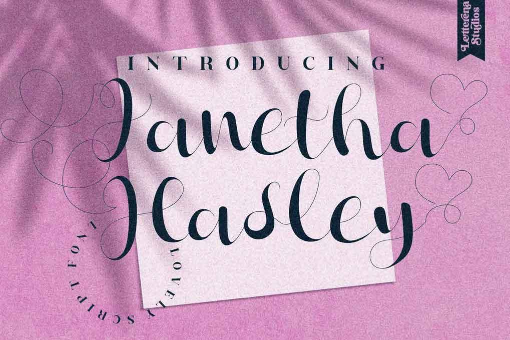 Janetha Hasley Font