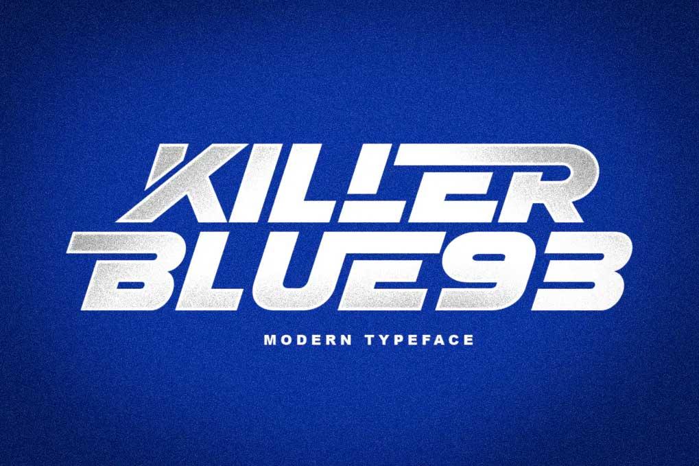 KILLER BLUE93 Font
