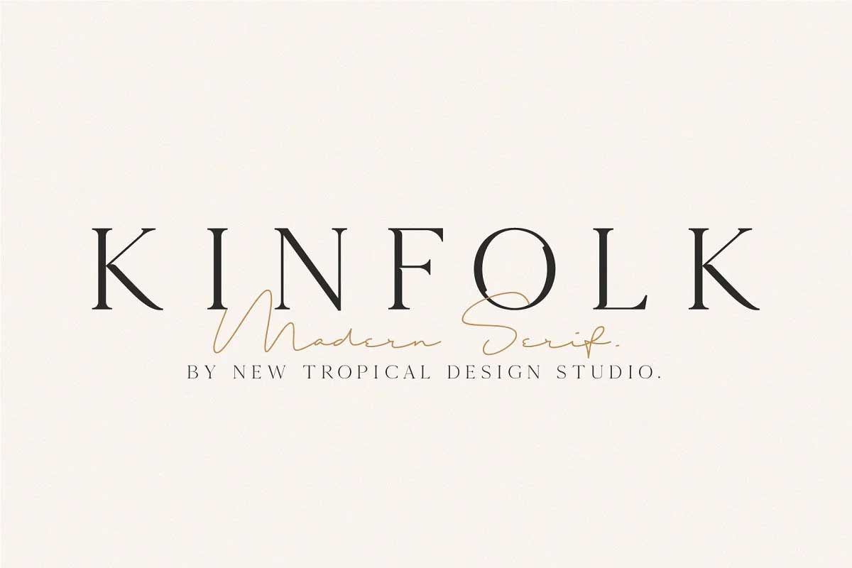 KINFOLK Font