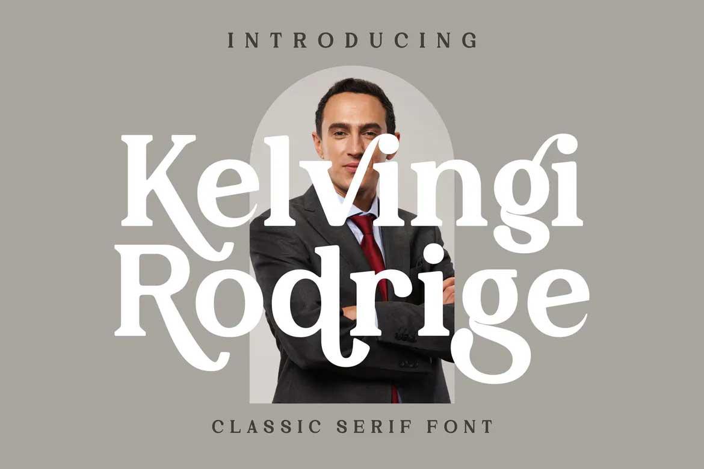 Kelvingi Rodrige Font