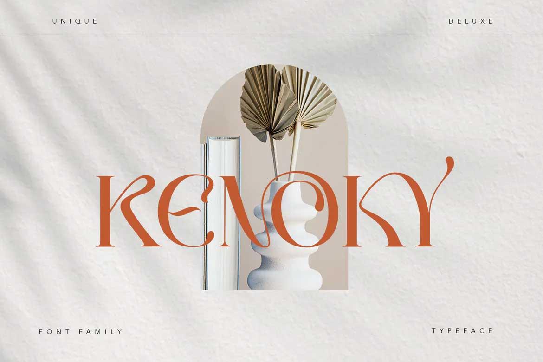 Kenoky Font