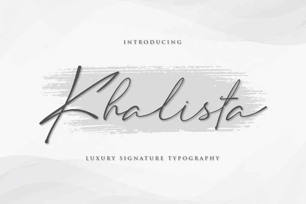 Khalista Font