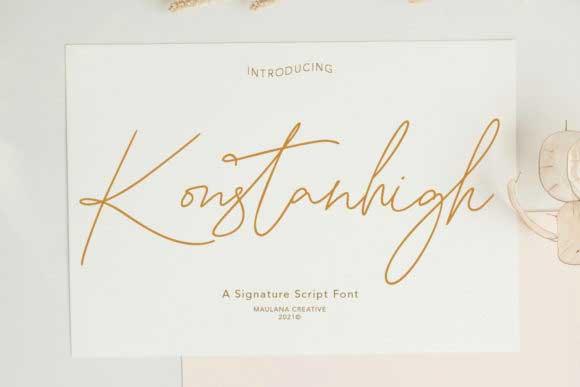 Konstanhigh Font