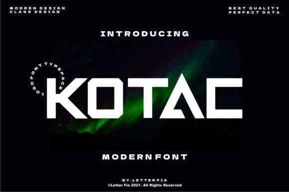 Kotac Font