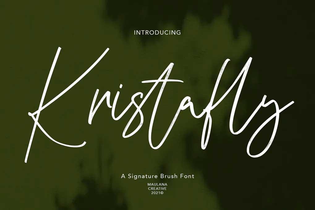 Kristafly Font