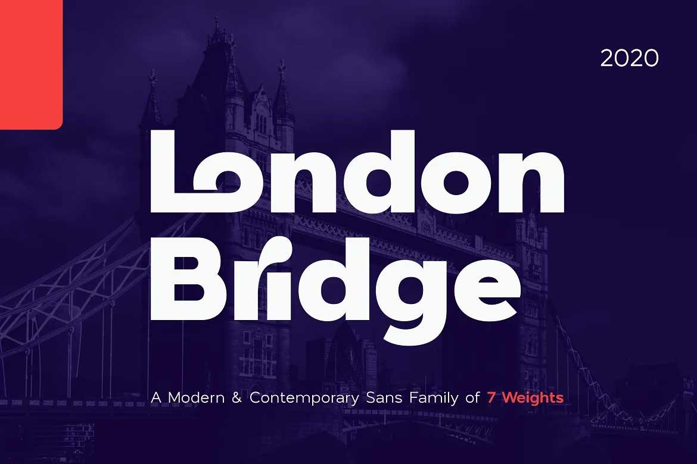 London Bridge Font Family