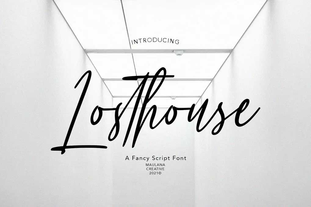Losthouse Font