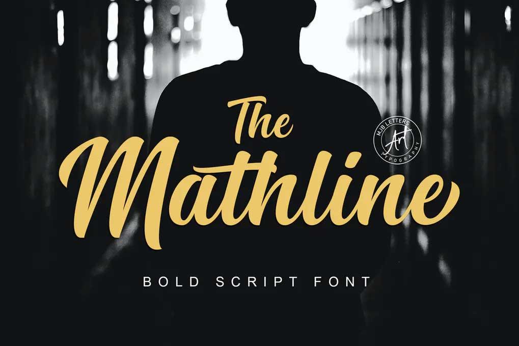 Mathline Font