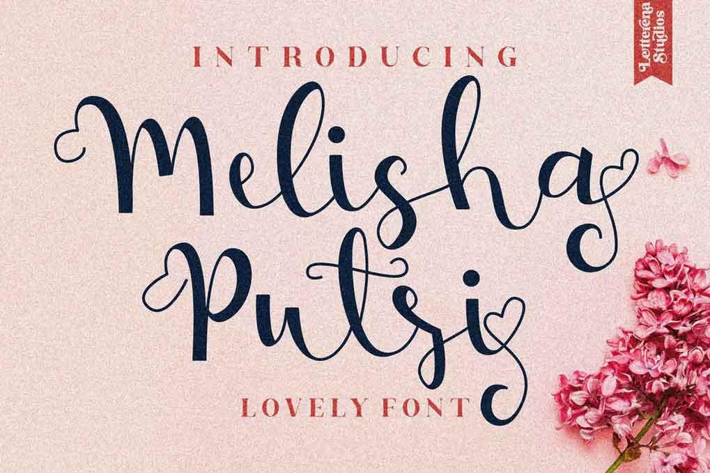 Melisha Putri Font