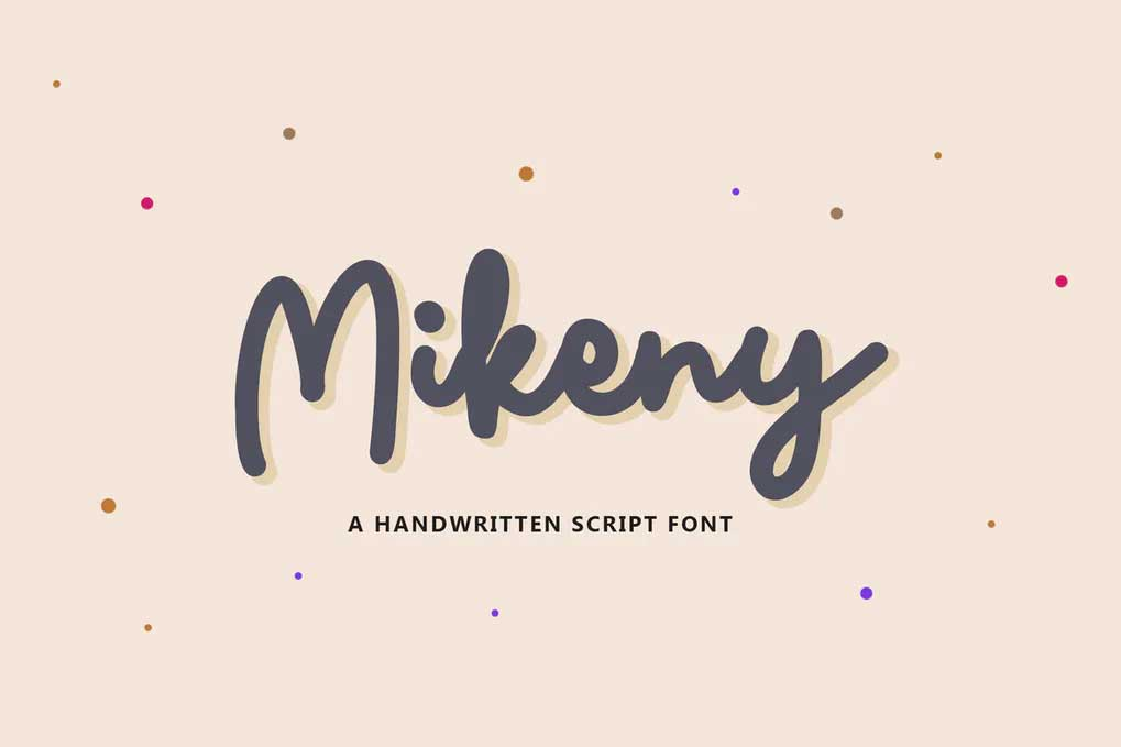 Mikeny Font