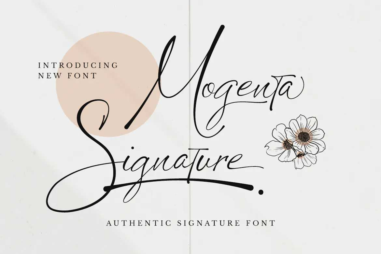 Mogenta Signature