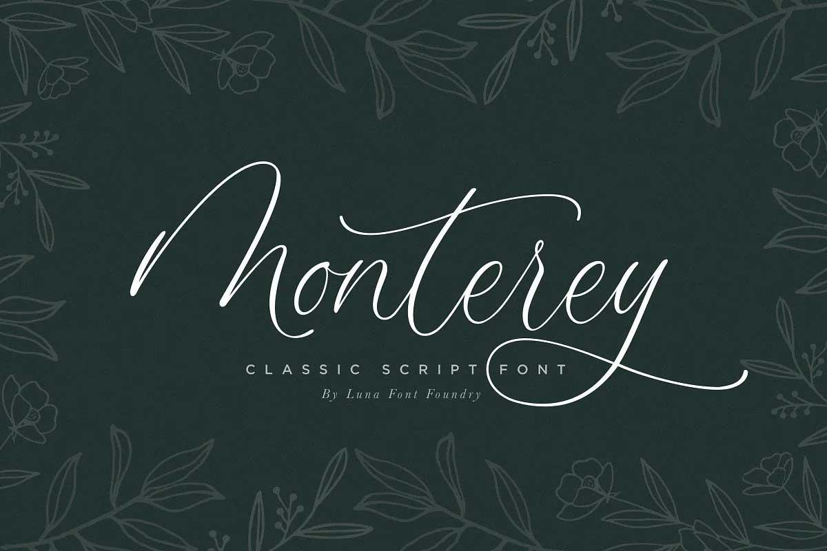 Monterey Script Font