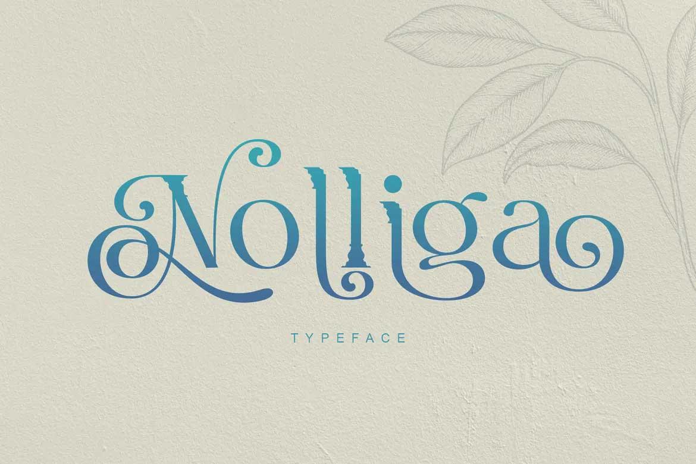 Nolliga Font
