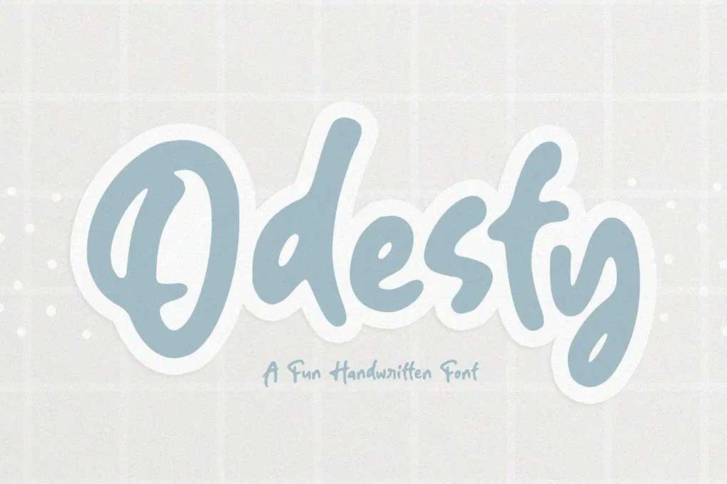 Odesty Font