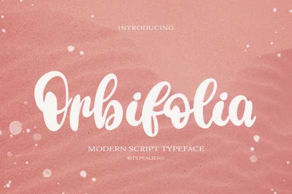Orbifolia Font