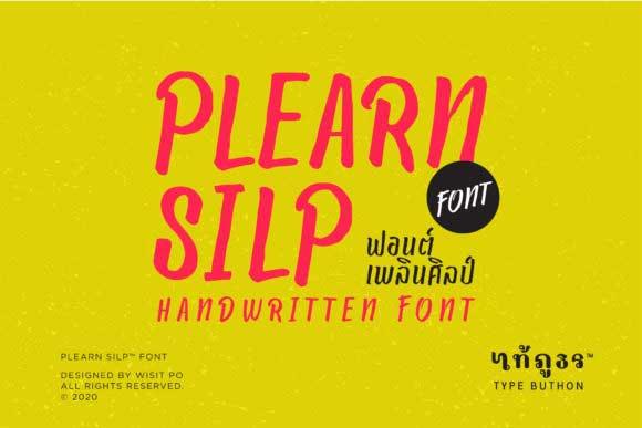 Plearn Silp Font