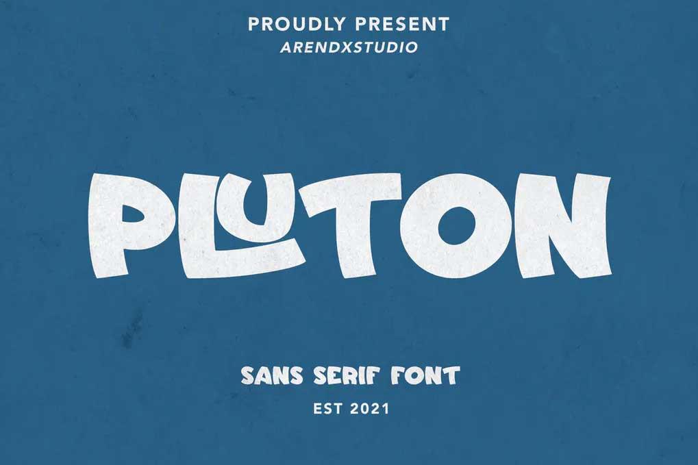 Pluton Font