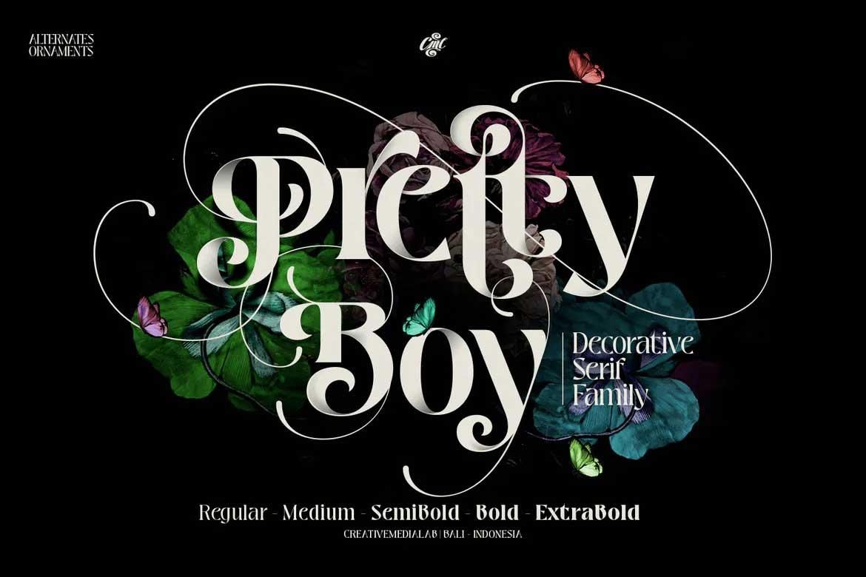 Pretty Boy Font