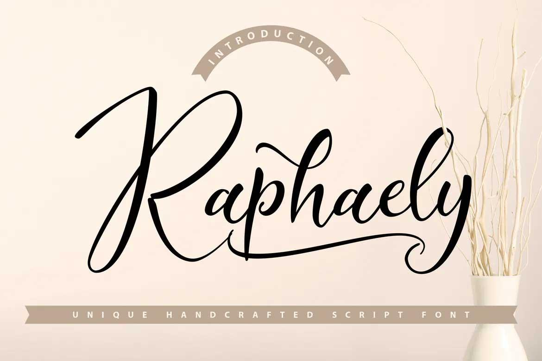Raphaely Font