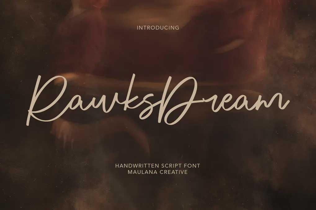Rawks Dream Font
