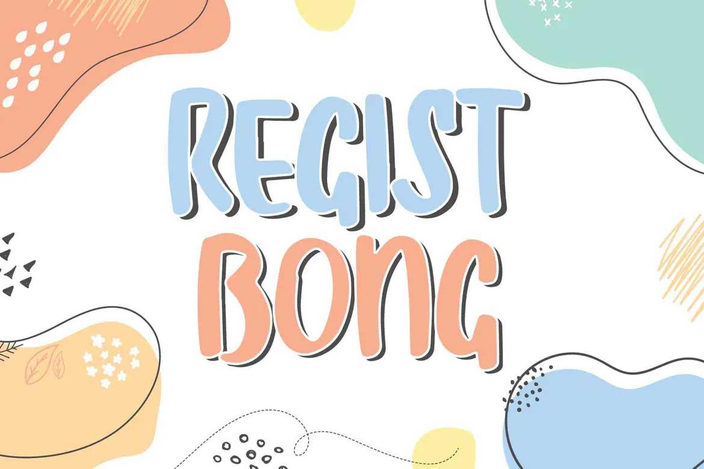 Regist Bong Font