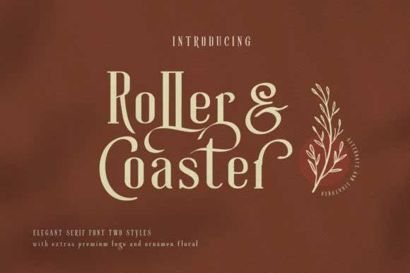 Roller Coaster Font