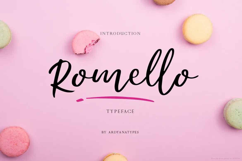 Romello Font