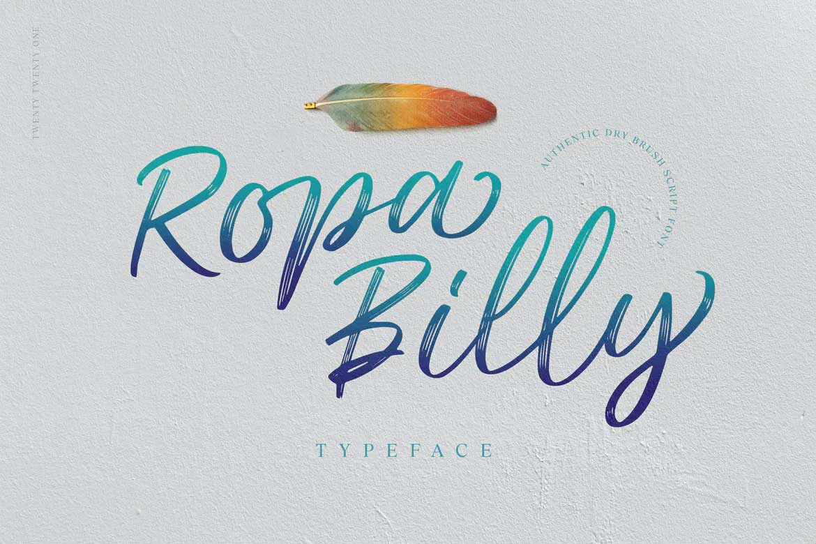 Ropa Billy Font