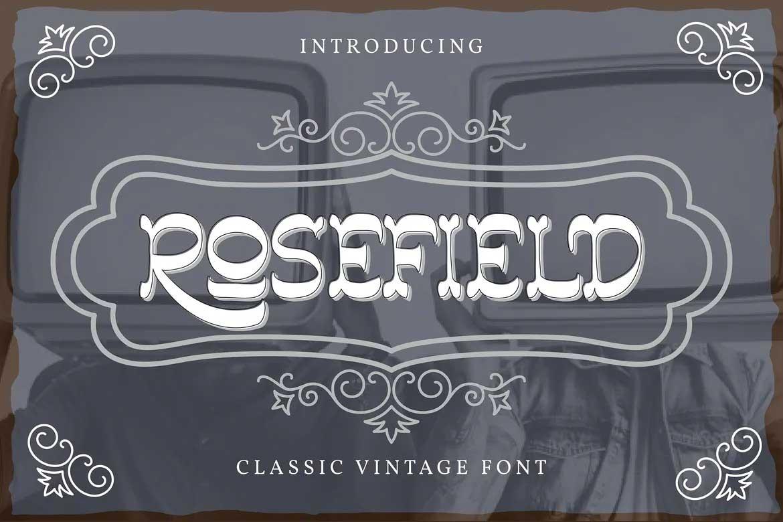 Rosefield Font
