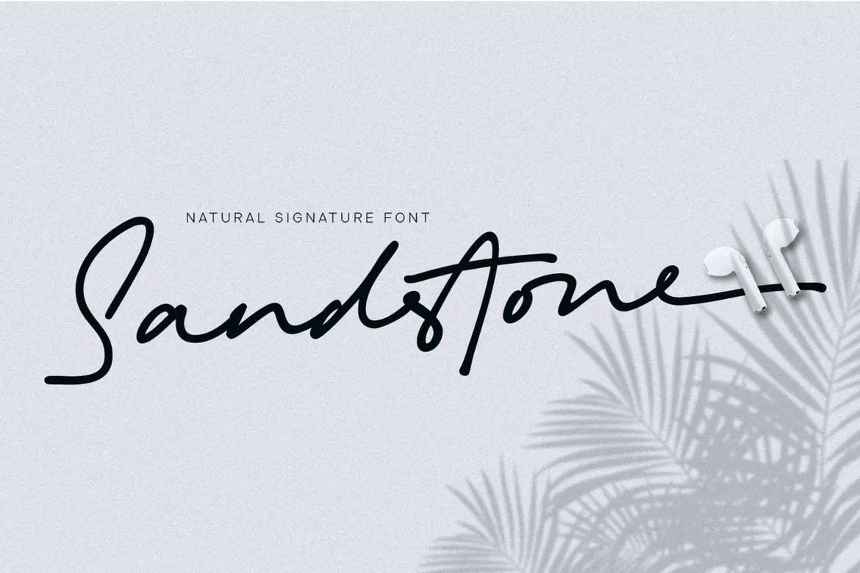 Sandstone Font