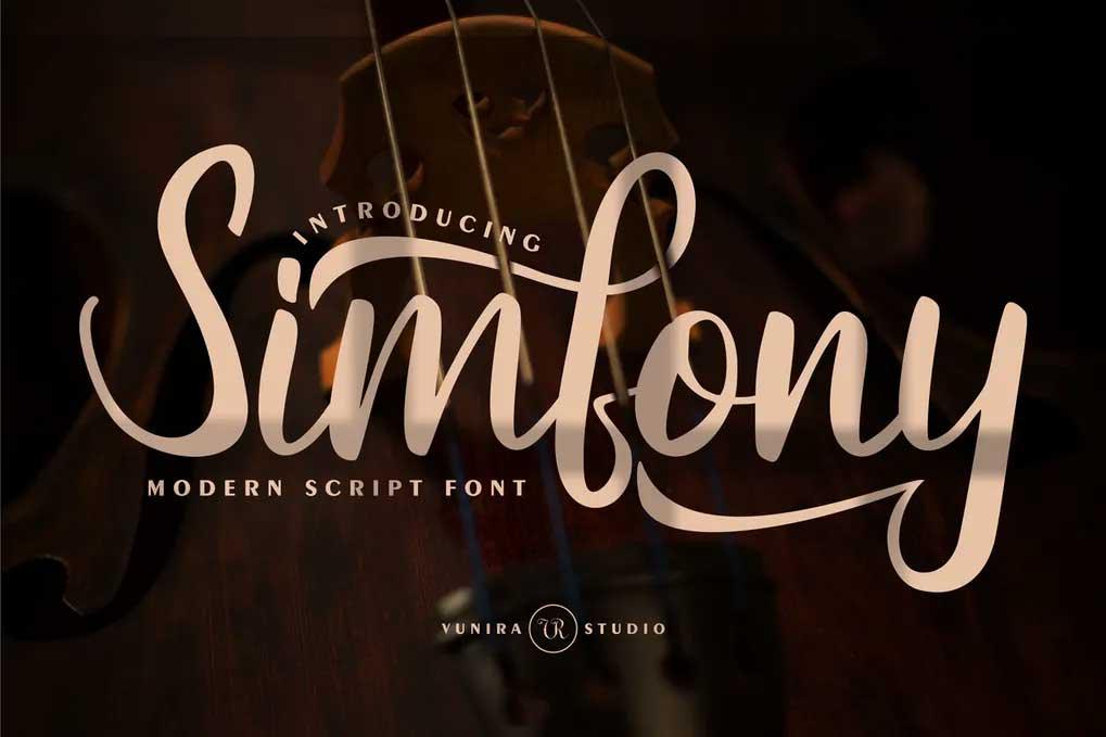 Simfony Font