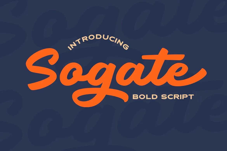 Sogate Font