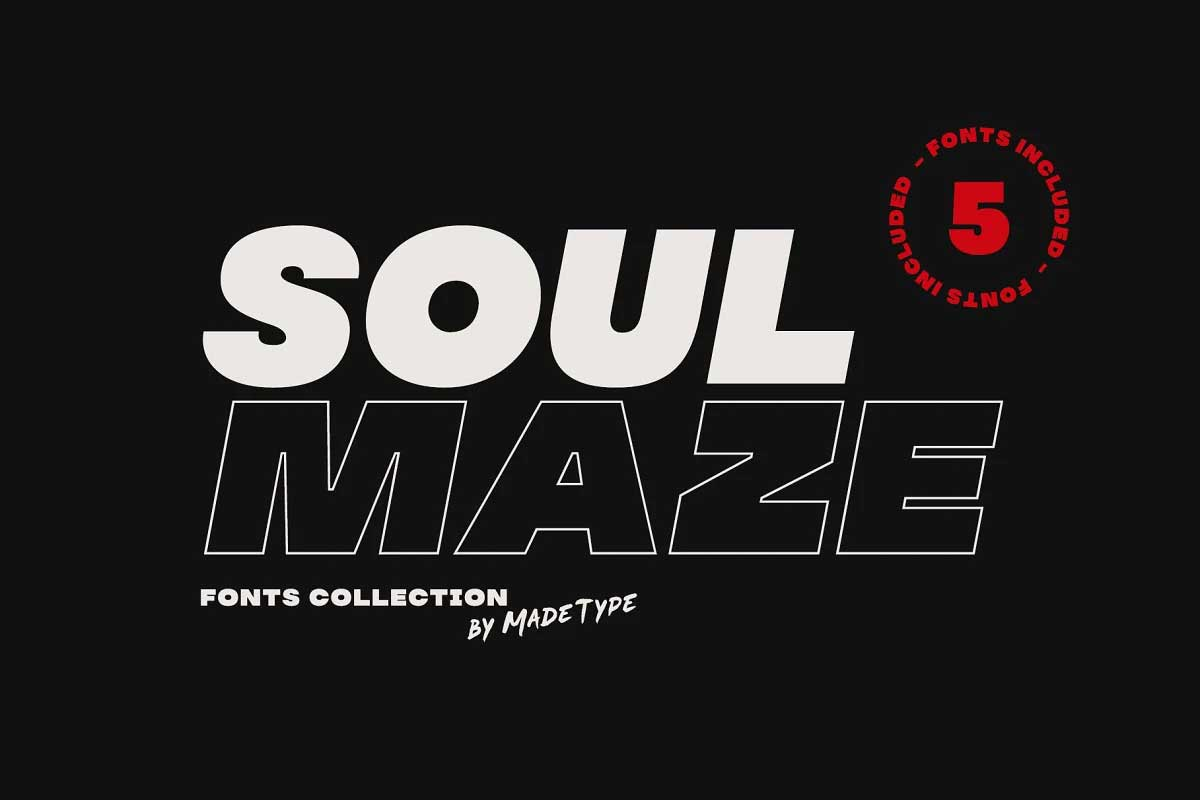 Soulmaze Font