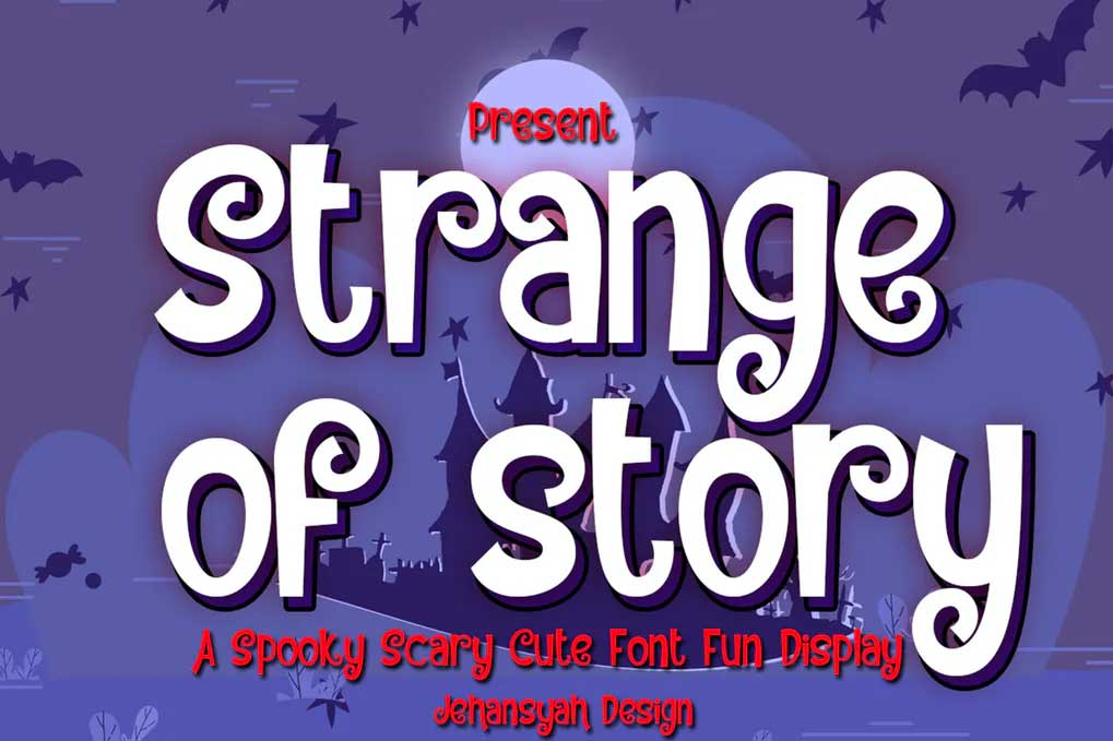 Strange Of Story Font
