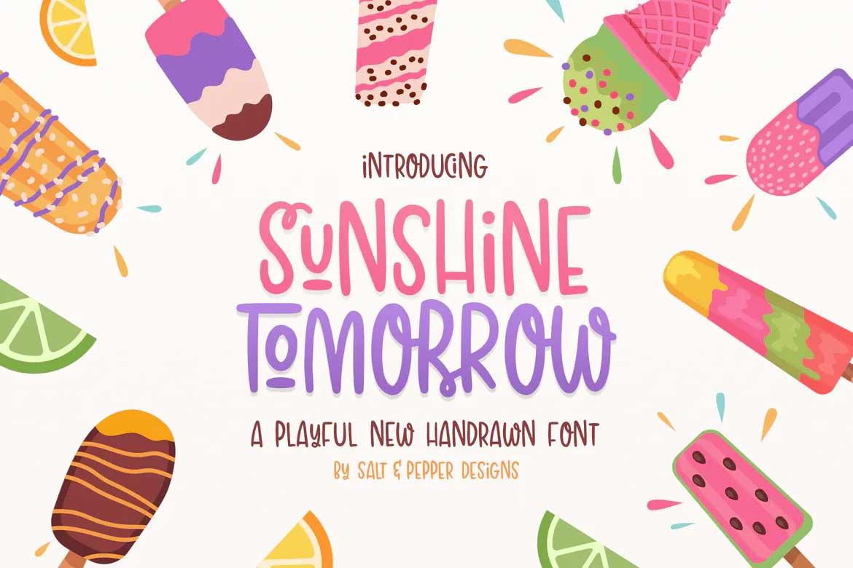 Sunshine Tomorrow Font