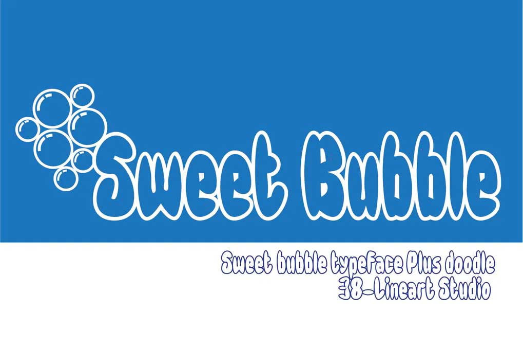 Sweet Bubble Font