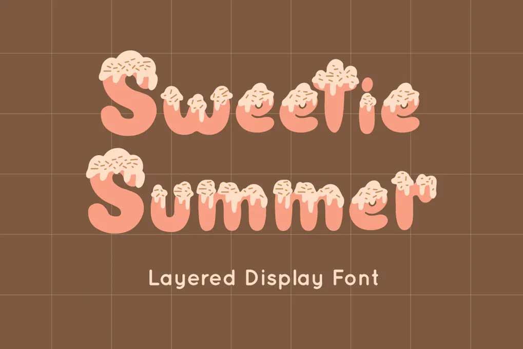 Sweetie Summer Font