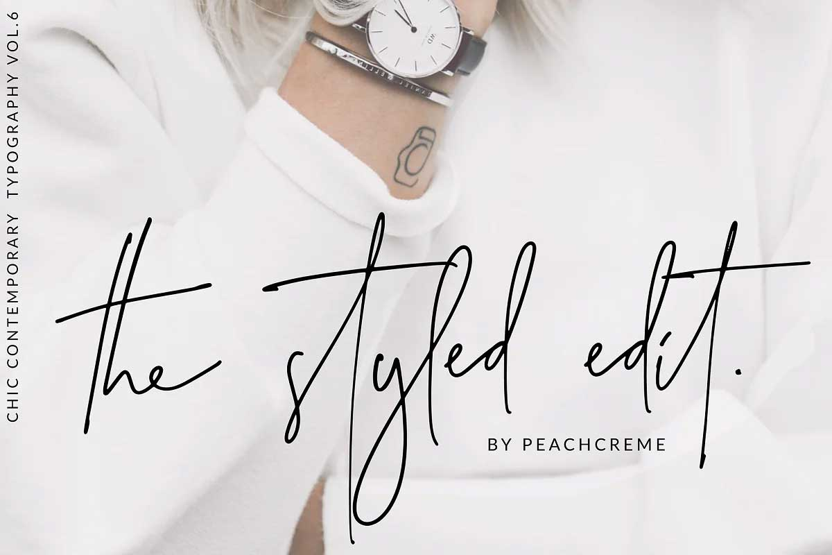The Styled Edit Font