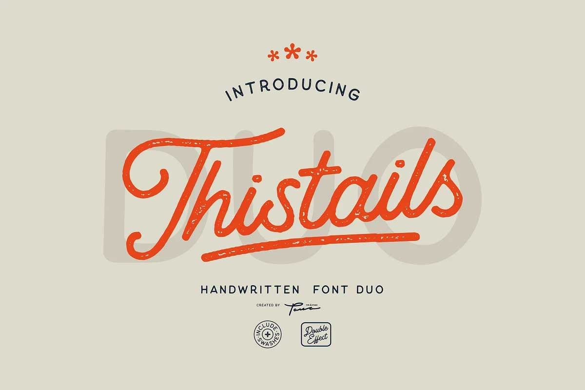 Thistails Font