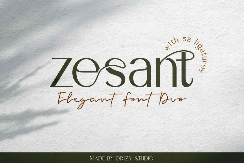 Zesant Font