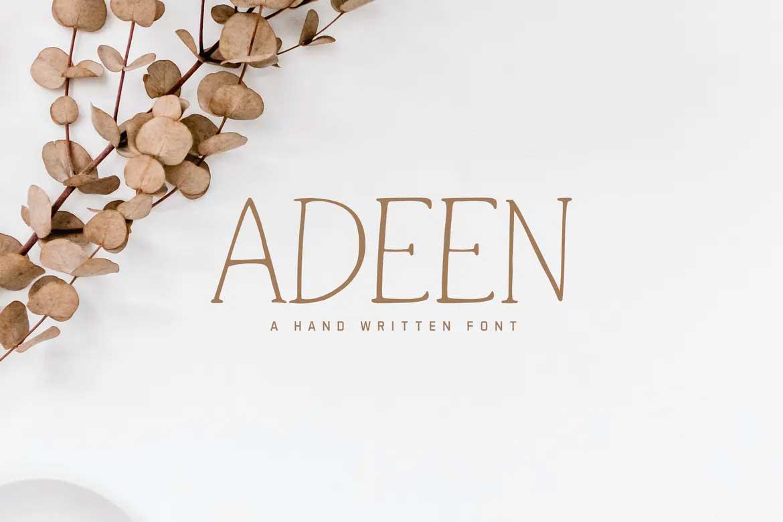 Adeen Font